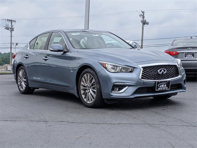 2020 INFINITI Q50 3.0t LUXE 3.0t LUXE AWD Twin Turbo Premium Unleaded V-6 3.0 L/183 [5]