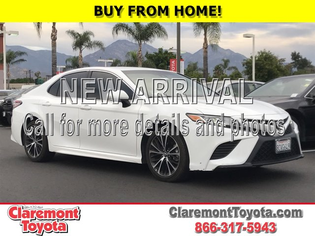 2018 Toyota Camry SE SE Auto Regular Unleaded I-4 2.5 L/152 [16]
