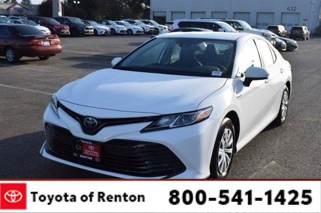 New 2020 Toyota Camry Hybrid in Renton, WA