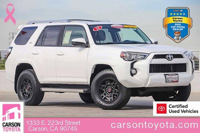 2018 Toyota 4Runner SR5 SR5 4WD Regular Unleaded V-6 4.0 L/241 [18]