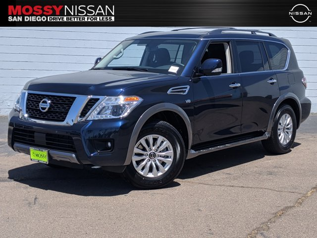 2020 Nissan Armada SV 4X2 4x2 SV Regular Unleaded V-8 5.6 L/339 [1]