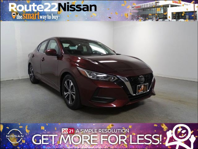 2021 Nissan Sentra SV SV CVT Regular Unleaded I-4 2.0 L/122 [0]