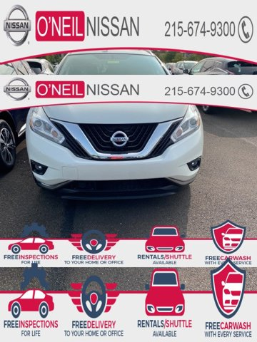 2017 Nissan Murano SL AWD SL Regular Unleaded V-6 3.5 L/213 [9]