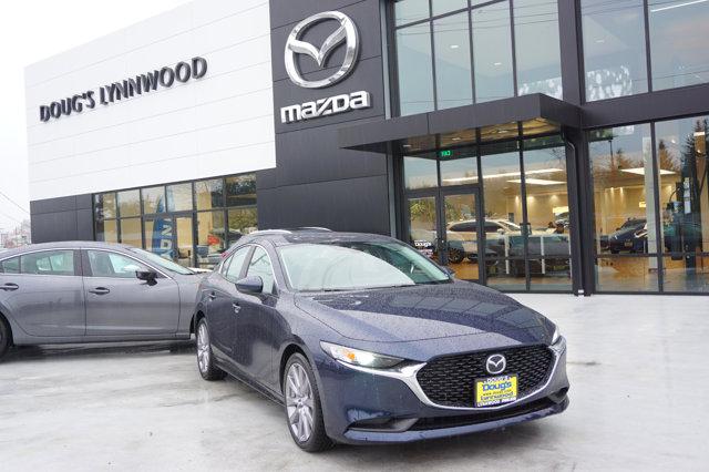 New 2021 Mazda Mazda3 Sedan in Edmonds Lynnwood Seattle Kirkland Everett, WA