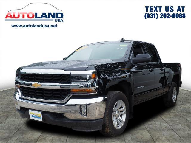 "2018 Chevrolet Silverado 1500 LT 4WD Double Cab 143.5"" LT w/1LT Gas V8 5.3L/325 [0]"