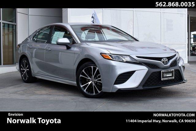 2020 Toyota Camry SE SE Auto Regular Unleaded I-4 2.5 L/152 [11]