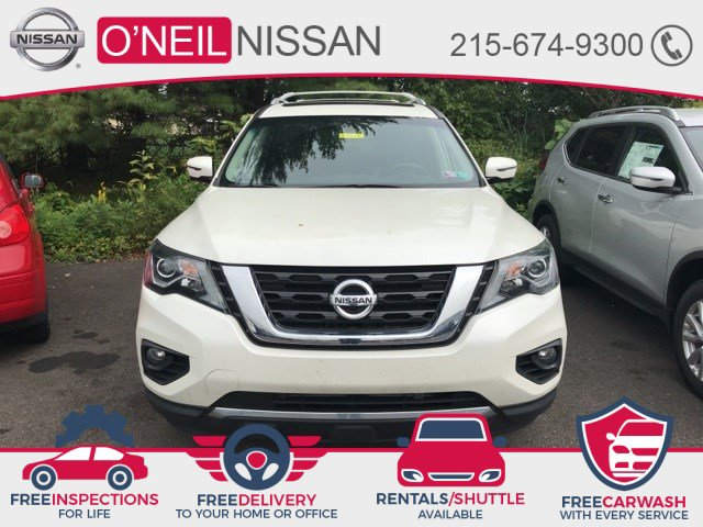 2018 Nissan Pathfinder Platinum 4x4 Platinum Regular Unleaded V-6 3.5 L/213 [6]