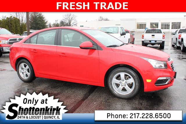 Used 2015 Chevrolet Cruze in Quincy, IL