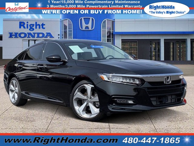 2018 Honda Accord Touring Touring 1.5T CVT Intercooled Turbo Regular Unleaded I-4 1.5 L/91 [9]