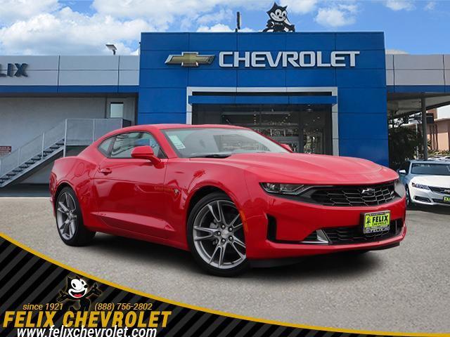 2021 Chevrolet Camaro 1LT 2dr Cpe 1LT Turbocharged Gas I4 2.0L/122 [2]