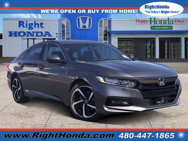 2020 Honda Accord Sport Sport 1.5T CVT Intercooled Turbo Regular Unleaded I-4 1.5 L/91 [9]