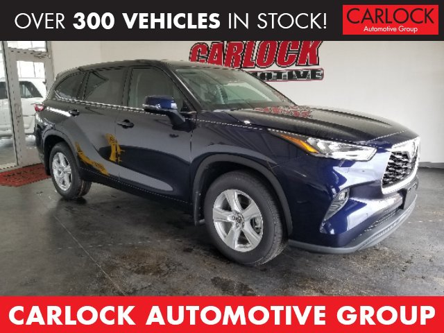 New 2020 Toyota Highlander in Saltillo, MS