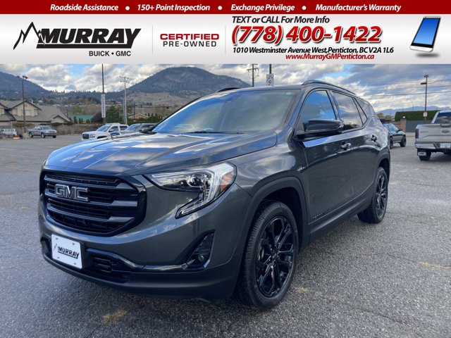 2019 GMC Terrain SLT AWD 4dr SLT Turbocharged Gas/E15 I4 2.0L/122 [9]