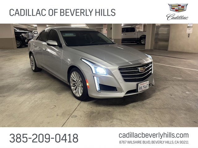 2015 Cadillac CTS Sedan Luxury RWD 4dr Sdn 2.0L Turbo Luxury RWD Turbocharged Gas I4 2.0L/122 [6]