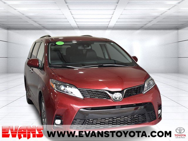 2019 Toyota Sienna SE Front Wheel Drive Power Steering ABS 4-Wheel Disc Brakes Brake Assist Al