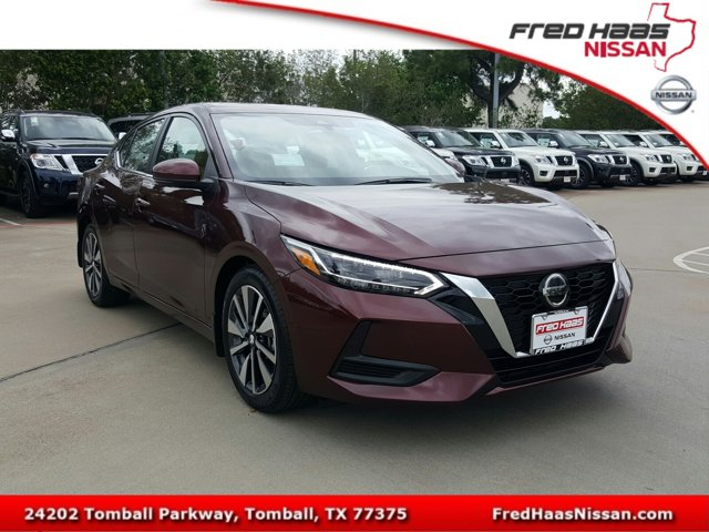 New 2020 Nissan Sentra in Tomball, TX