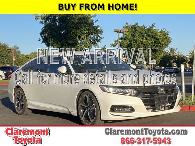 2018 Honda Accord Sport Sport 1.5T CVT Intercooled Turbo Regular Unleaded I-4 1.5 L/91 [4]