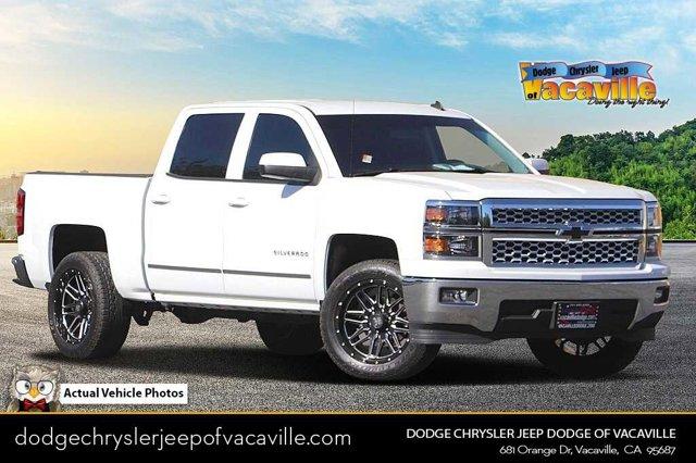 2014 Chevrolet Silverado 1500 LT 2WD Crew Cab 143.5″ LT w/1LT Gas/Ethanol V6 4.3L/262 [1]