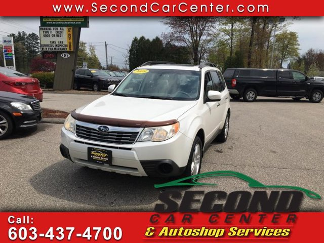 2009 Subaru Forester X wPremAll-Weather SATIN WHITE PEARL All Wheel Drive Power Steering 4-Whe