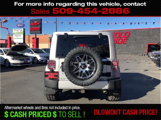 Used 2012 Jeep Wrangler Unlimited 4WD 4dr Sahara