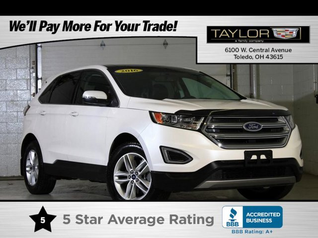 2016 Ford Edge SEL Turbocharged All Wheel Drive Power Steering ABS 4-Wheel Disc Brakes Brake A
