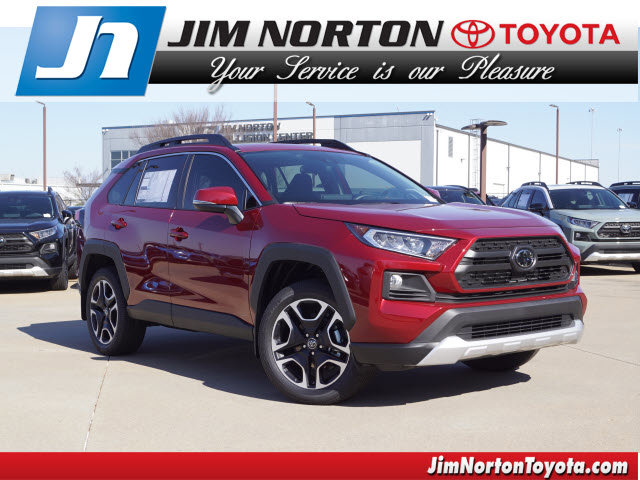 New 2019 Toyota RAV4 in Oklahoma City, OK