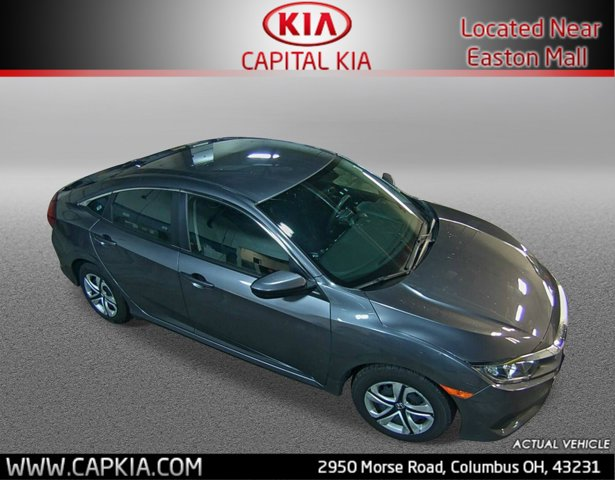 Used 2017 Honda Civic Sedan in Columbus, OH
