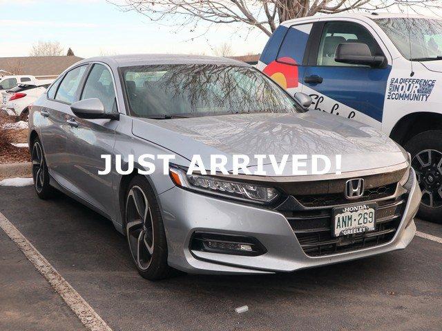 Used 2018 Honda Accord Sedan in Greeley, CO