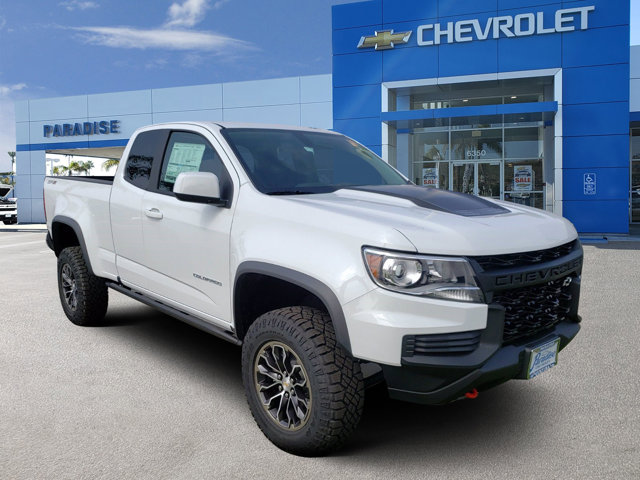 2021 Chevrolet Colorado 4WD ZR2 4WD Ext Cab 128″ ZR2 Gas V6 3.6L/ [11]
