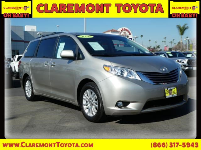 Used 2016 Toyota Sienna in Claremont, CA