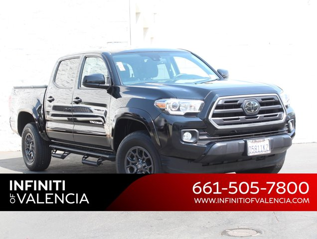 2018 Toyota Tacoma SR5 SR5 Double Cab 5′ Bed V6 4x2 AT Regular Unleaded V-6 3.5 L/211 [9]
