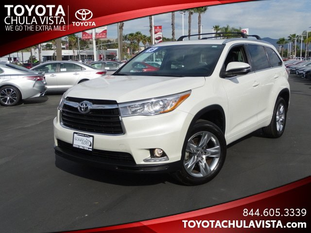 Used 2016 Toyota Highlander in San Diego, CA