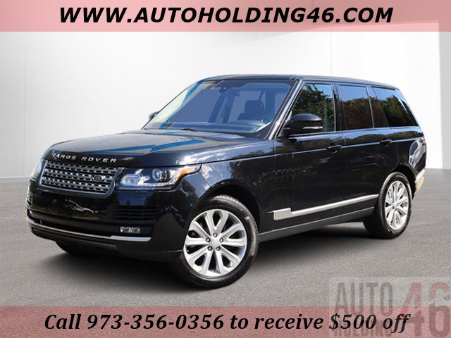 2016 Land Rover Range Rover Diesel HSE Turbocharged Four Wheel Drive Air Suspension Active Suspe