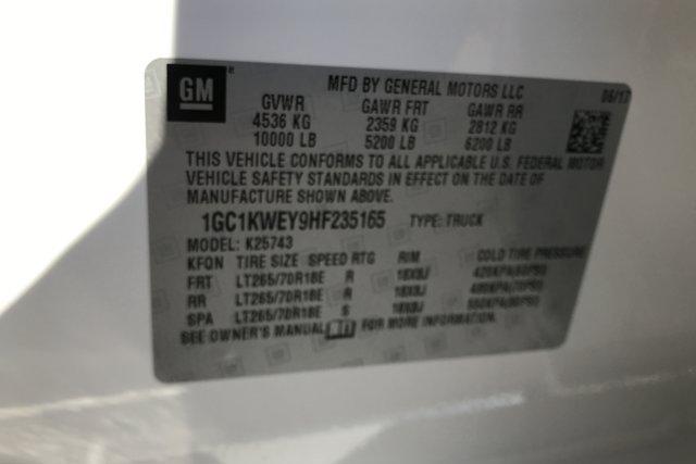 Used 2017 Chevrolet Silverado 2500HD 4WD Crew Cab 153.7 LTZ