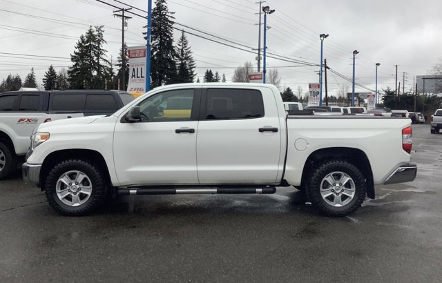 Used 2014 Toyota Tundra 4WD Truck CrewMax 4.6L V8 6-Spd AT SR5