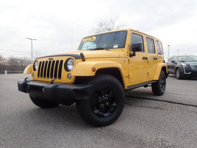 Used 2015 Jeep Wrangler Unlimited in Greenwood, IN