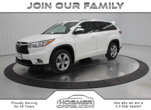 Used 2016 Toyota Highlander in Mason City, IA