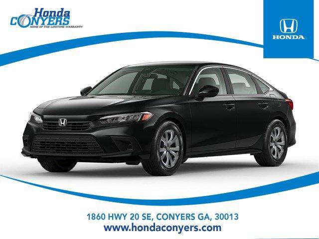 2022 Honda Civic Sedan LX LX CVT Regular Unleaded I-4 2.0 L/122 [15]