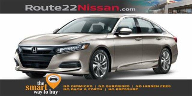 2018 Honda Accord Sedan LX 1.5T LX 1.5T CVT Intercooled Turbo Regular Unleaded I-4 1.5 L/91 [11]