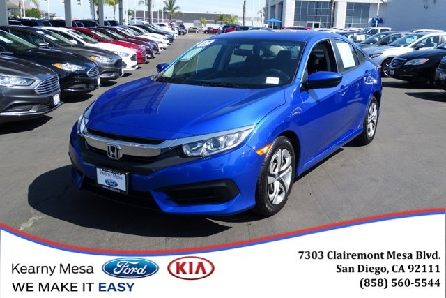 Used 2017 Honda Civic Sedan in San Diego, CA