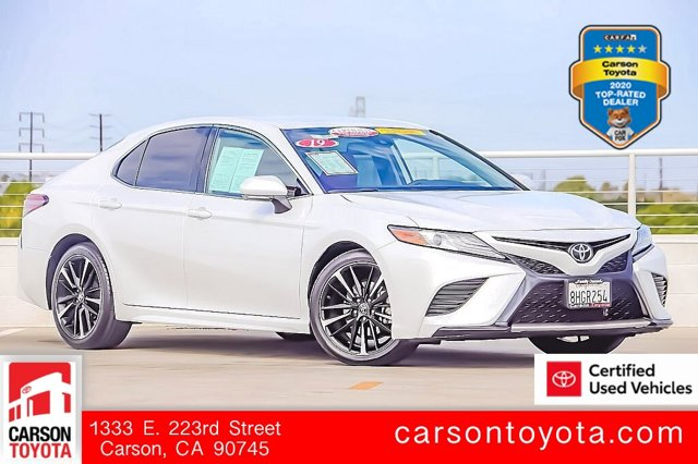 2019 Toyota Camry XSE XSE Auto Regular Unleaded I-4 2.5 L/152 [8]