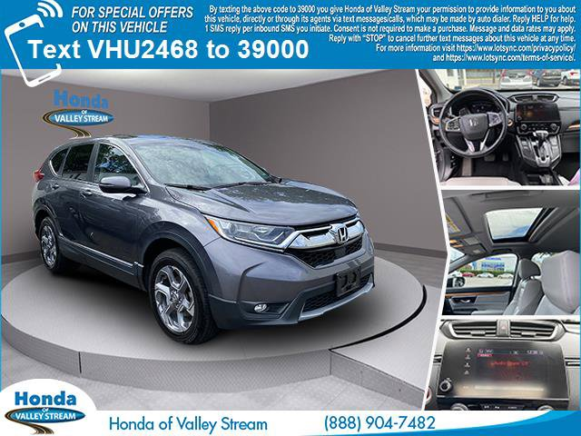 2017 Honda crv exl  Intercooled Turbo Regular Unleaded I-4 1.5 L/91 [13]