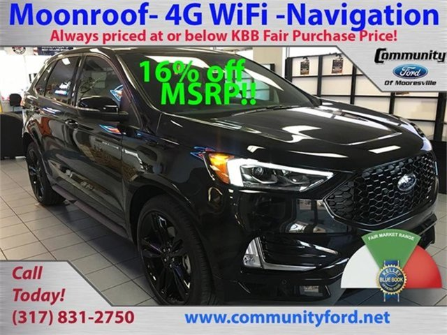 New 2019 Ford Edge in Bloomington, IN