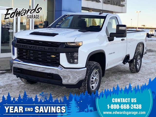 2021 Chevrolet Silverado 2500HD Work Truck Apple Carplay 4WD Reg Cab 142″ Work Truck Gas V8 6.6L/400 [0]