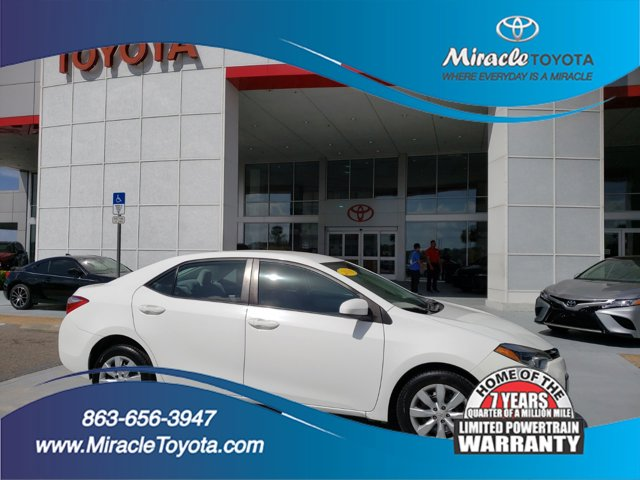 Used 2016 Toyota Corolla in Haines City, FL