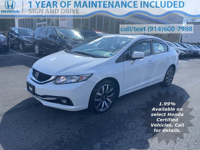 Used 2015 Honda Civic Sedan in Yonkers, NY