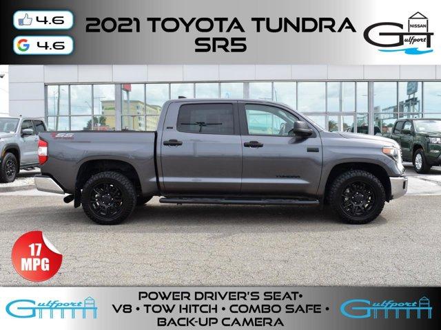 2021 Toyota Tundra 2WD SR5 SR5 CrewMax 5.5' Bed 5.7L Regular Unleaded V-8 5.7 L/346 [4]
