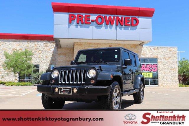 Used 2018 Jeep Wrangler JK Unlimited in Granbury, TX