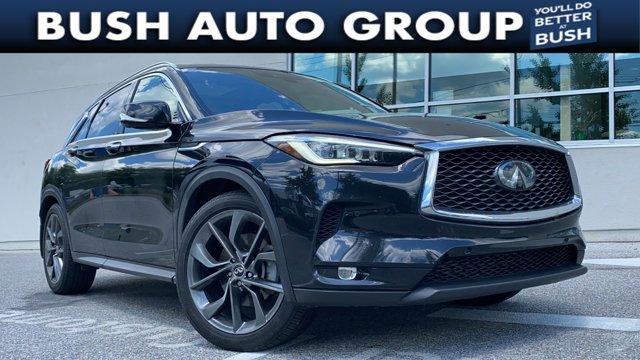 2019 INFINITI QX50 ESSENTIAL ESSENTIAL AWD Intercooled Turbo Premium Unleaded I-4 2.0 L/121 [7]