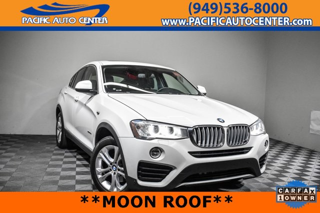 Used 2016 BMW X4 in Costa Mesa, CA